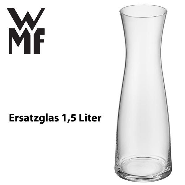 wmf wasserkaraffe ersatzglas karaffe 1 5 l wasser wasserkaraffenersatzglas basic ebay. Black Bedroom Furniture Sets. Home Design Ideas